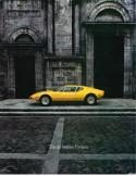1972 DE TOMASO PANTERA BROCHURE ENGLISH / FRENCH
