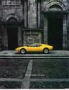1972 DE TOMASO PANTERA BROCHURE ENGLISCH / FRANZÖSISCH