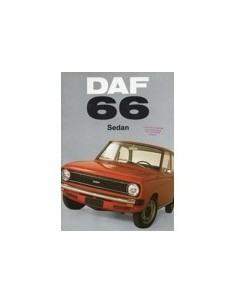 1972 DAF 66 SEDAN BROCHURE NEDERLANDS