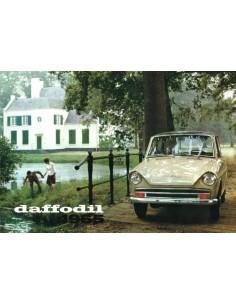 1965 DAF DAFFODIL BROCHURE DUTCH