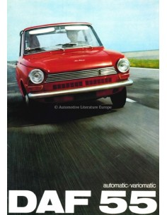 1968 DAF 55 VARIOMATIC BROCHURE NEDERLANDS