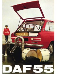 1969 DAF 44 / 55 STATIONCAR BROCHURE NEDERLANDS