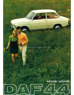1968 DAF 44 VARIOMATIC BROCHURE NEDERLANDS