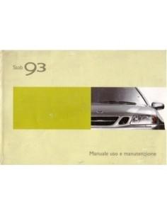 2003 SAAB 9.3 INSTRUCTIEBOEKJE ITALIAANS
