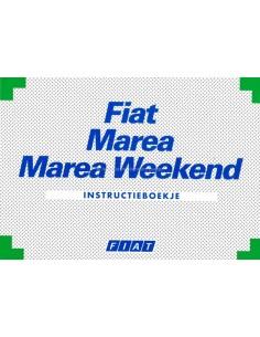 1998 FIAT MAREA & WEEKEND BETRIEBSANLEITUNG NIEDERLANDISCH
