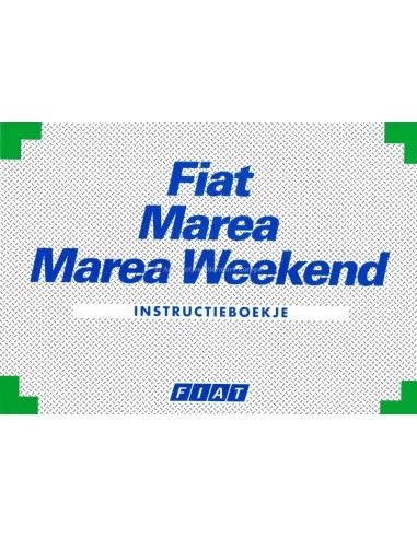 1998 FIAT MAREA & WEEKEND OWNERS MANUAL HANDBOOK DUTCH