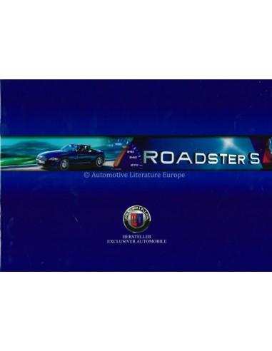2004 BMW ALPINA ROADSTER S PROSPEKT DEUTSCH