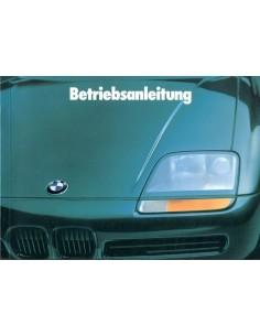 1989 BMW Z1 BETRIEBSANLEITUNG DEUTSCH