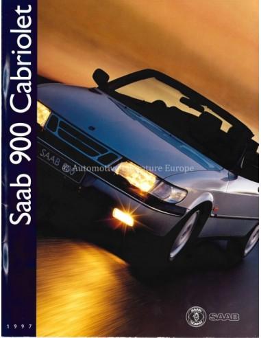 1997 SAAB 900 CABRIOLET BROCHURE DUTCH