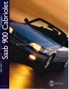 1997 SAAB 900 CABRIOLET BROCHURE DUTCH