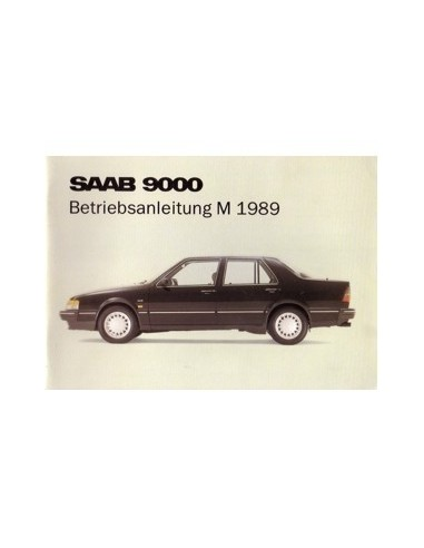 1989 saab 9000 cd owners manual handbook german automotive rh autolit eu saab 9000 manual conversion reverse light saab 9000 manual