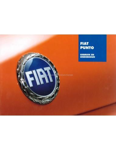 2003 FIAT PUNTO INSTRUCTIEBOEKJE NEDERLANDS