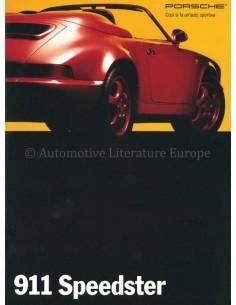 1993 PORSCHE 911 SPEEDSTER PROSPEKT FRANZÖSISCH
