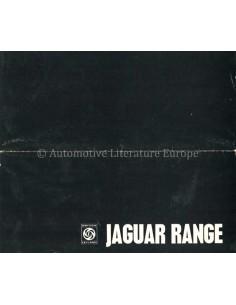 1970 JAGUAR PROGRAMM PROSPEKT ENGLISCH
