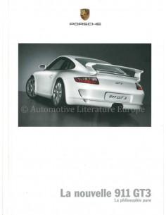 2006 PORSCHE 911 GT3 HARDCOVER PROSPEKT FRANZÖSISCH