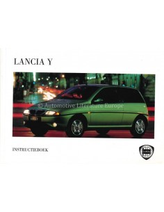 1996 LANCIA Y BETRIEBSANLEITUNG NIEDERLÄNDISCH