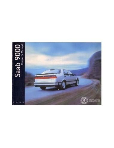 1997 SAAB 9000 INSTRUCTIEBOEKJE ENGELS