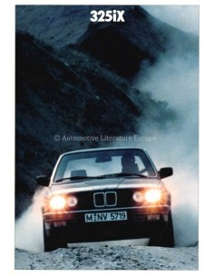 1987 BMW 3ER 325IX PROSPEKT NIEDERLÄNDISCH