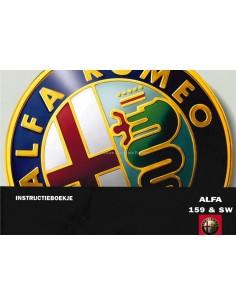 2006 ALFA ROMEO 159 & SPORTWAGON BETRIEBSANLEITUNG NIEDERLÄNDISCH