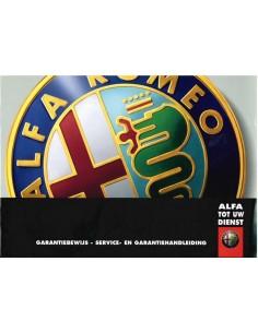 2005 ALFA ROMEO WARTUNG & GARANTIE BETRIEBSANLEITUNG