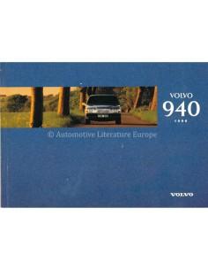 1996 VOLVO 940 BETRIEBSANLEITUNG NIEDERLÄNDISCH