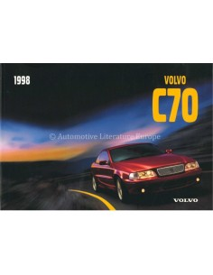 1998 VOLVO C70 COUPE BETRIEBSANLEITUNG SPANISCH