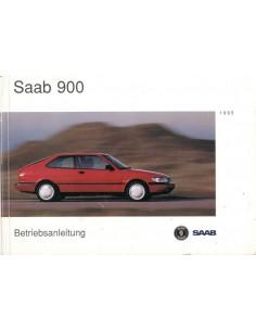 1995 SAAB 900 INSTRUCTIEBOEKJE DUITS