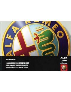 2005 ALFA ROMEO 159 BRERA AUTORADIO BETRIEBSANLEITUNG NIEDERLÄNDISCH