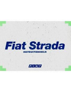 2000 FIAT STRADA BETRIEBSANLEITUNG NIEDERLÄNDISCH