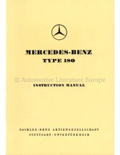 1956 MERCEDES BENZ 180 BETRIEBSANLEITUNG DEUTSCH