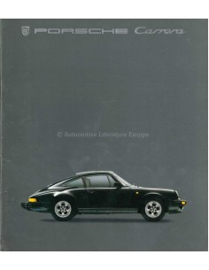 1985 PORSCHE 911 CARRERA & TURBO PROSPEKT DEUTSCH