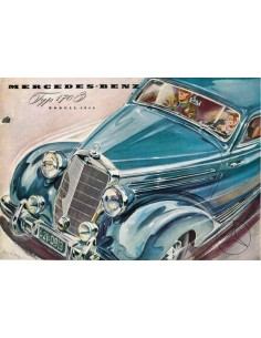 1952 MERCEDES BENZ 170S BROCHURE DUITS