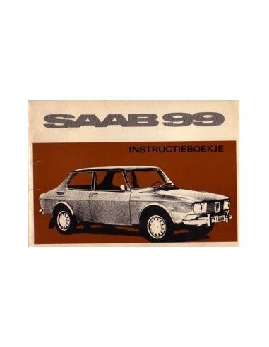 1969 SAAB 99 INSTRUCTIEBOEKJE NEDERLANDS