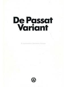 1974 VOLKSWAGEN PASSAT VARIANT PROSPEKT NIEDERLÄNDISCH