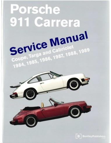 1984 - 1989 PORSCHE 911 CARRERA REPARATURANLEITUNG ENGLISCH
