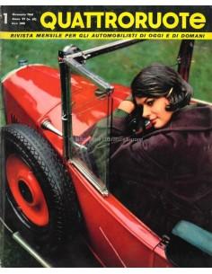 1961 QUATTRORUOTE MAGAZINE 61 ITALIAANS