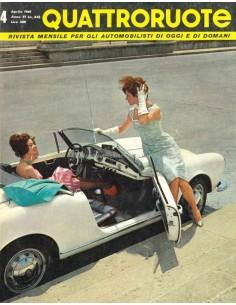 1961 QUATTRORUOTE MAGAZIN 64 ITALIENISCH