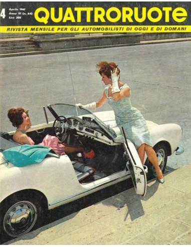 1961 QUATTRORUOTE MAGAZINE 64 ITALIAANS