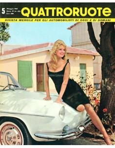 1961 QUATTRORUOTE MAGAZINE 65 ITALIAANS