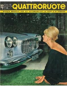 1961 QUATTRORUOTE MAGAZINE 72 ITALIAANS