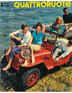 1962 QUATTRORUOTE MAGAZINE 80 ITALIAANS