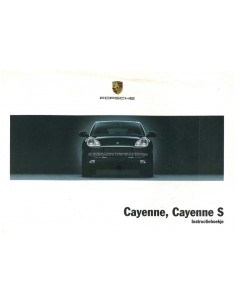 2004 PORSCHE CAYENNE & S BETRIEBSANLEITUNG NIEDERLÄNDISCH