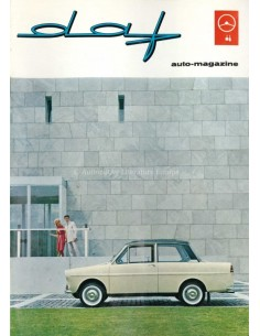 1963 DAF AUTO MAGAZINE 5 NEDERLANDS