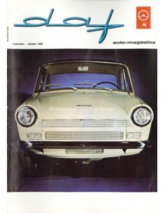 1965 DAF AUTO MAGAZINE 5 DUTCH