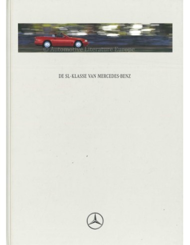 1996 MERCEDES BENZ SL HARDBACK BROCHURE DUTCH