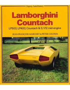 LAMBORGHINI COUNTACH - JEAN-FRANCOIS MARCHET & PETER COLTRIN - BOEK