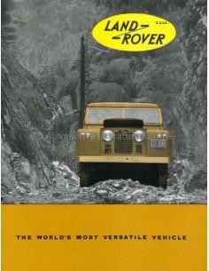 1962 LAND ROVER SERIES IIA PROSPEKT ENGLISCH