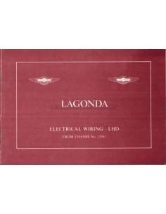 1986 ASTON MARTIN LAGONDA ELECTRICAL WIRING LHD MANUAL ENGLISH