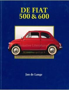 DE FIAT 500 & 600 - JAN DE LANGE - BOEK