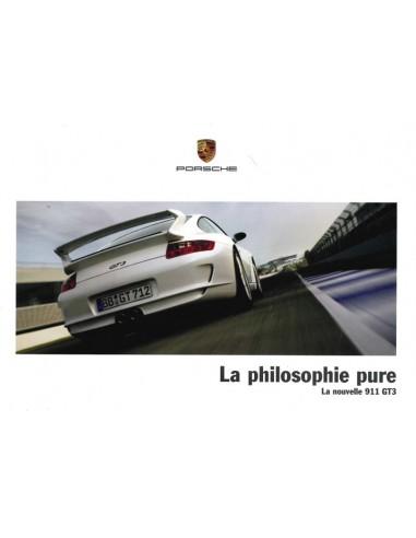 2006 PORSCHE 911 GT3 BROCHURE FRENCH